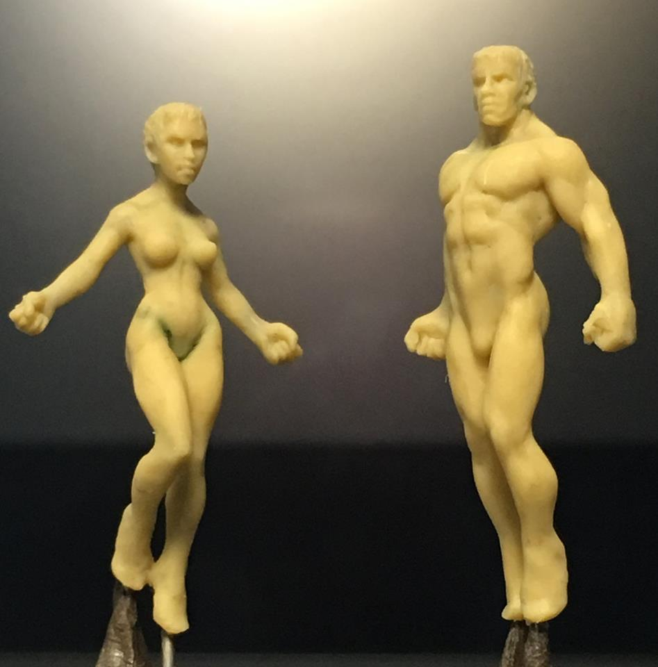 HFMASTER L633 Resin Master - Female Super Dolly