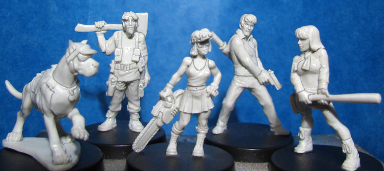 HFMASTER A093 Resin Masters - Post-Apoc Gang (5)