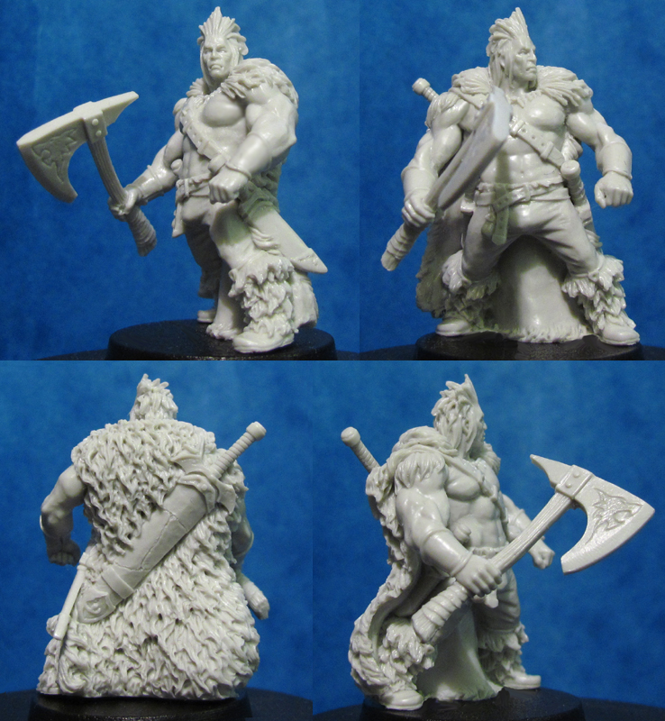 HFMASTER H084 Resin Master - Volk the Bastard