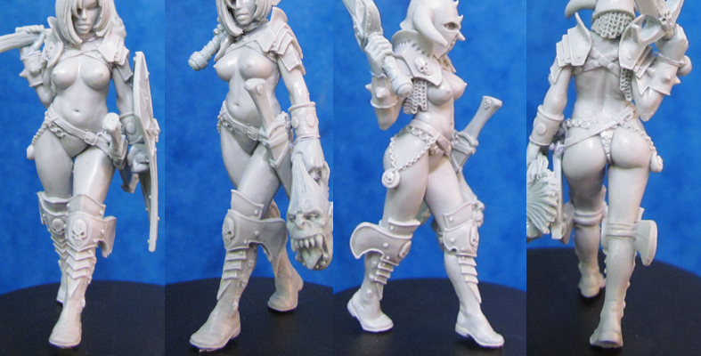 HF4009B-B2 40mm Kalee - Barbaric Body (resin)