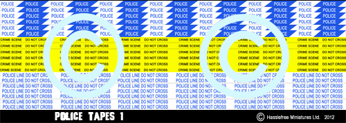 HFSTICKERS006 Police Tapes 1