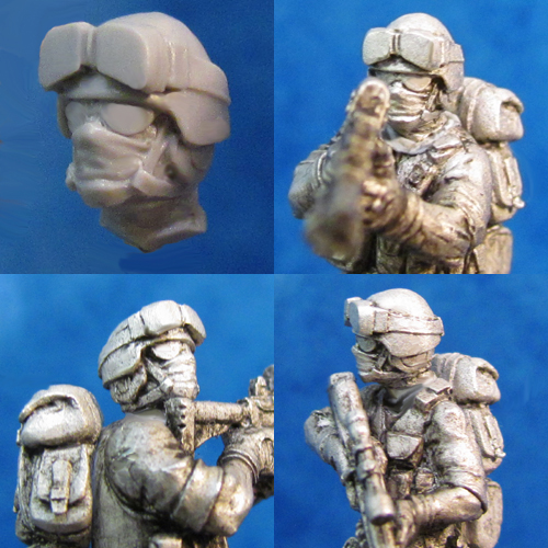 HFMT104 Modern Trooper - Mongrel Head