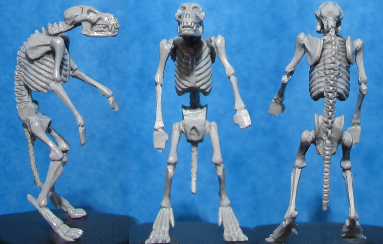 HFMASTER L603 Resin Master - Werewolf Skeleton Dolly