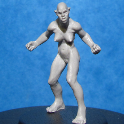HFMASTER O201 Resin Master - Female Orc Dolly