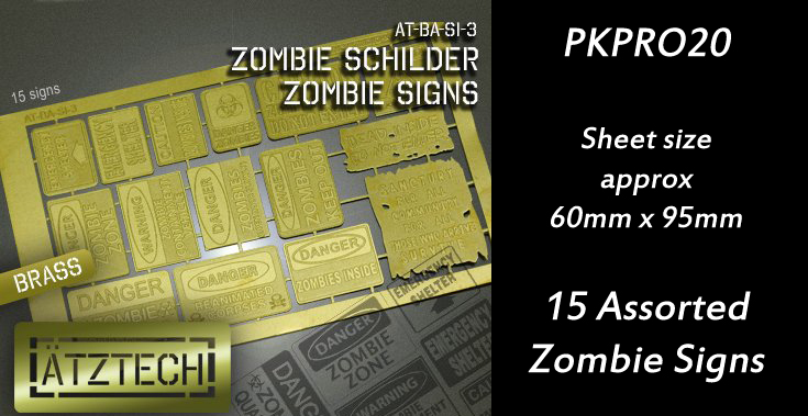 HFPKPRO20 Signs 3 - Zombies