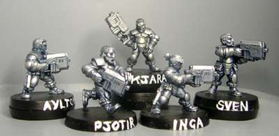 HFG5000 Heavy Infantry Squad(Bareheaded)
