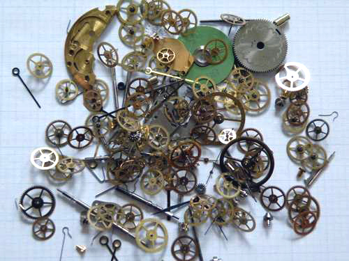 HFCOGS25 Steampunk parts 25g