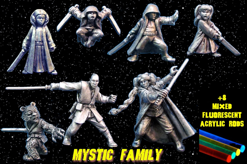 HFSF121 Mystic Warrior Family Pack