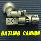 Powered Armour - Right Arm 5 - Gatling Cannon