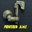 Powered Armour - Right Arm 6 - Powered Axe