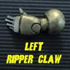 Powered Armour - Left Arm 5 - Ripper Claw