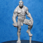 Resin Master - Male Orc Skyclad