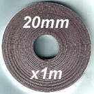 1m of 20mm width Magnetic tape